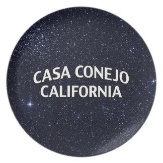 Casa Conejo California Melamine Plate