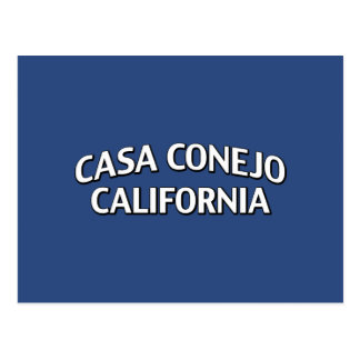Casa Conejo California Postcard