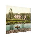 Casa de Abbotsford, fronteras escocesas, canva de  Lienzo Envuelto Para Galerias