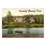 Casa de Abbotsford, fronteras escocesas, Escocia Tarjetas De Visita Grandes