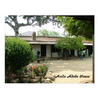 Casa de Ávila Adobe Tarjetas Postales
