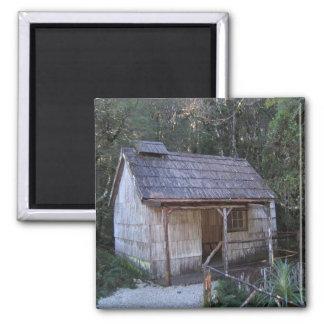 Casa de baños del siglo XVIII, montaña de la cuna Iman