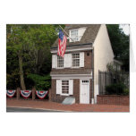 Casa de Betsy Ross Tarjeta Pequeña