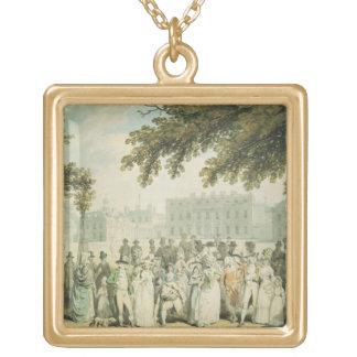 Casa de Buckingham, el parque de San Jaime, 1790 Pendientes Personalizados