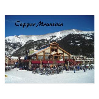Casa de campo de cobre tarjeta postal