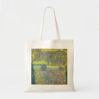 Casa de campo de Gustavo Klimt por el Attersee Bolsa Tela Barata