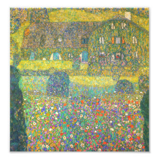 Casa de campo de Gustavo Klimt por el Attersee Fotografías