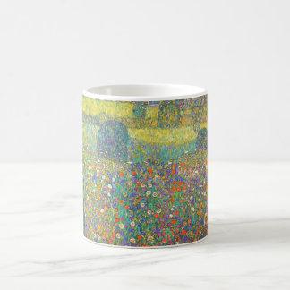 Casa de campo de Gustavo Klimt por el Attersee Taza Clásica