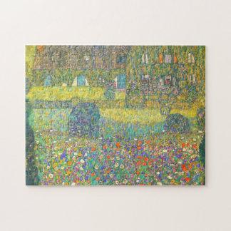 Casa de campo de Gustavo Klimt por el rompecabezas