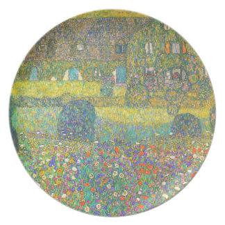 Casa de campo de Gustavo Klimt por la placa de Att Plato