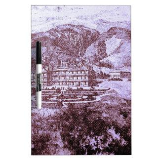 Casa de campo de la montaña pizarras