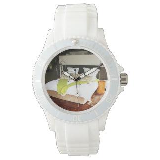 Casa de campo de lujo del safari relojes de pulsera