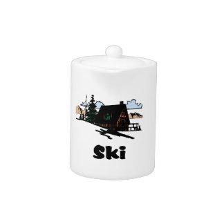 Casa de campo de relajación del esquí