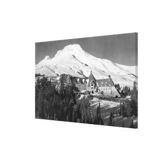 Casa de campo de Timerline y fotografía de la capi Lienzo Envuelto Para Galerías