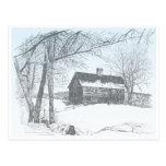 Casa de campo del invierno