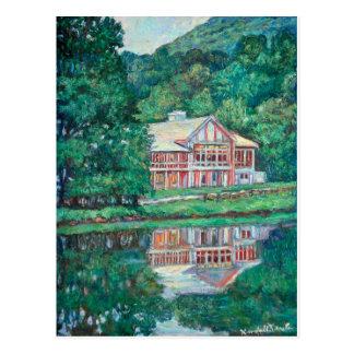 Casa de campo en los picos de la nutria postales