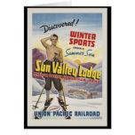 Casa de campo Idaho de Sun Valley Tarjeta De Felicitación