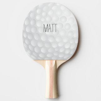 Casa de campo personalizada del golf pala de tenis de mesa