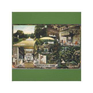Casa de Chatsworth Lona Estirada Galerias