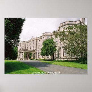 Casa de Farmleigh, parque Dublín de Phoenix Impresiones