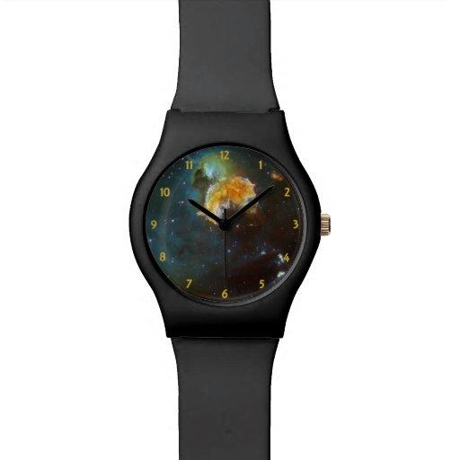 Casa de fieras de estrellas reloj de mano
