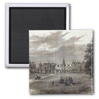 Casa de Hatfield Imán Cuadrado