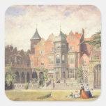 Casa de Holanda, Kensington Calcomanía Cuadradase