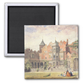 Casa de Holanda, Kensington Imán Cuadrado