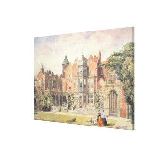 Casa de Holanda, Kensington Impresión En Lienzo