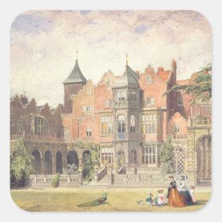 Casa de Holanda, Kensington Pegatina Cuadrada
