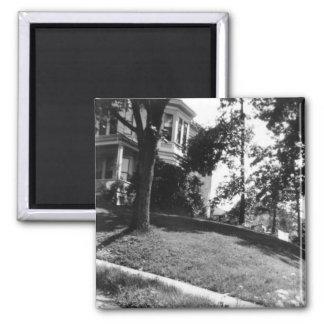 Casa de Horatio Alger en Natick, Massachusetts Imán De Frigorífico