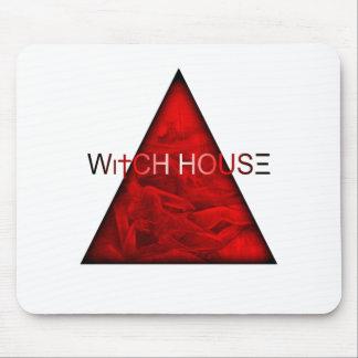 Casa de la bruja tapete de ratón