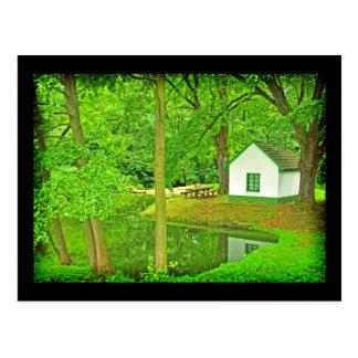 Casa de la bruja postales