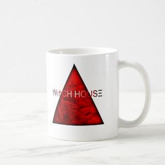 Casa de la bruja taza de café