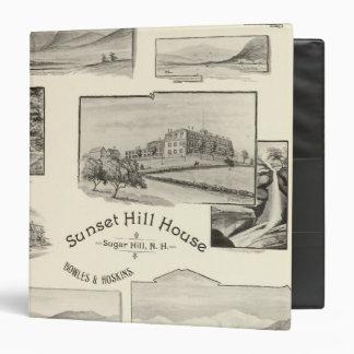 """Casa de la colina de la puesta del sol, colina del carpeta 1 1/2"""""""