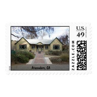 Casa de la colonia, Atascadero, CA Sello