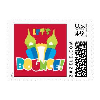 Casa de la despedida sellos postales