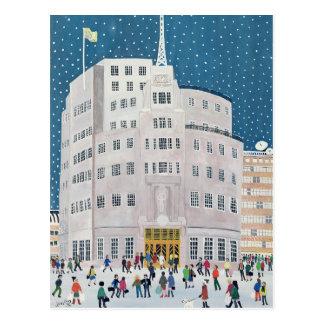 Casa de la difusión de la BBC Tarjetas Postales