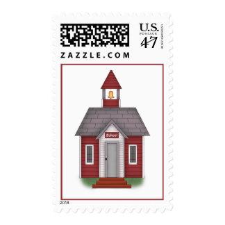 Casa de la escuela - franqueo sello
