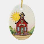 Casa de la escuela - SRF Ornaments Para Arbol De Navidad