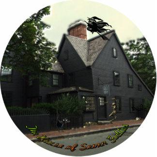 Casa de la escultura de la foto de siete aguilones fotoescultura vertical