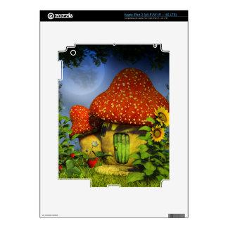Casa de la fantasía de la fresa iPad 3 pegatinas skins