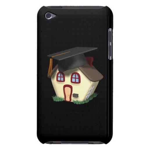 Casa de la graduación barely there iPod protectores