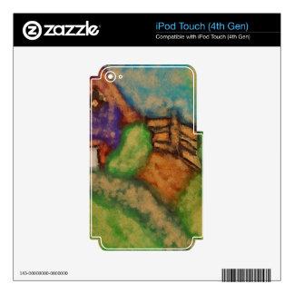 Casa de la granja iPod touch 4G calcomanías