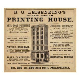 Casa de la impresión de Leisenring Impresiones