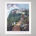 Casa de la montaña de Catskill Poster