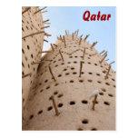 Casa de la paloma de Qatari Tarjeta Postal