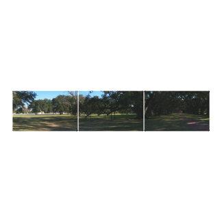 Casa de la plantación cerca de New Orleans Impresiones De Lienzo
