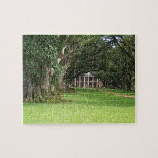 Casa de la plantación rompecabeza con fotos