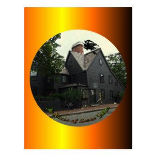 Casa de la postal de siete aguilones